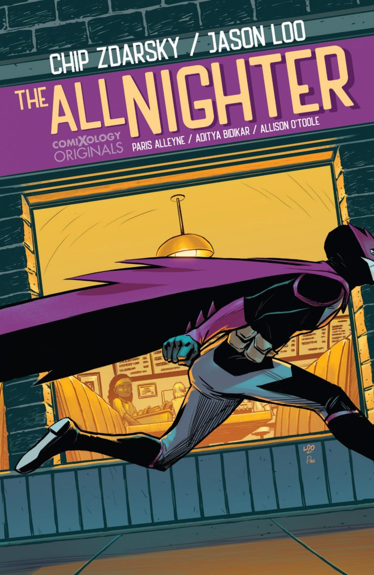 ComiXology announces 'The All-Nighter' comics series
