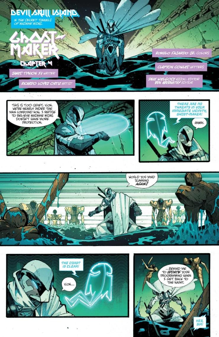 DC Preview: Batman #110