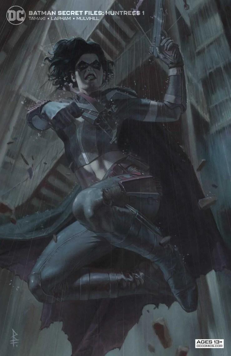 DC Preview: Batman Secret Files: Huntress #1