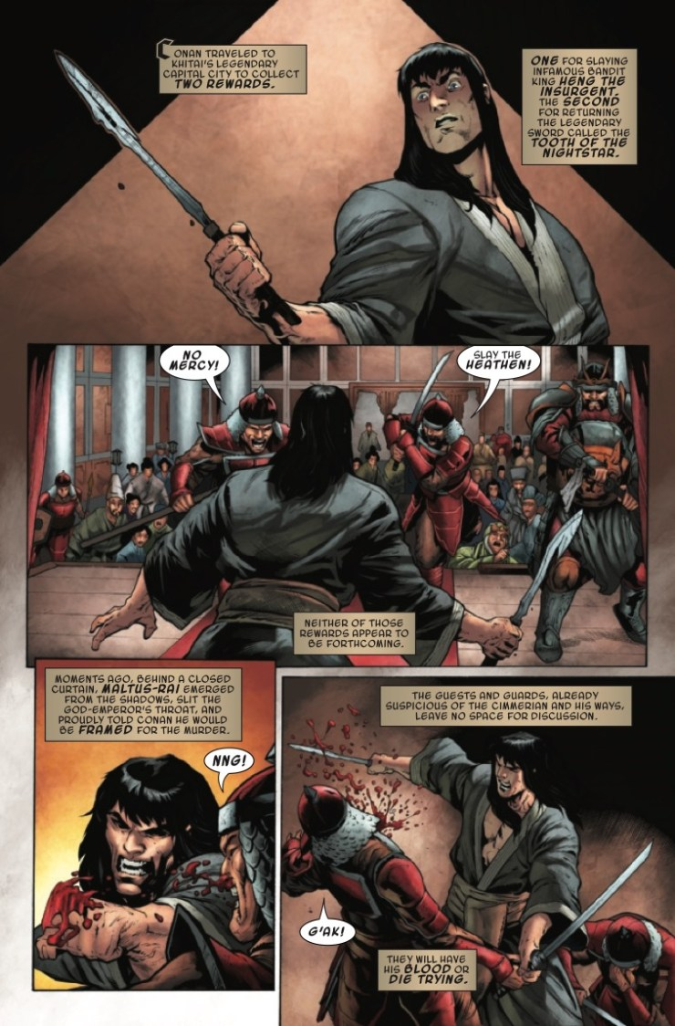 Marvel Preview: Conan the Barbarian #23