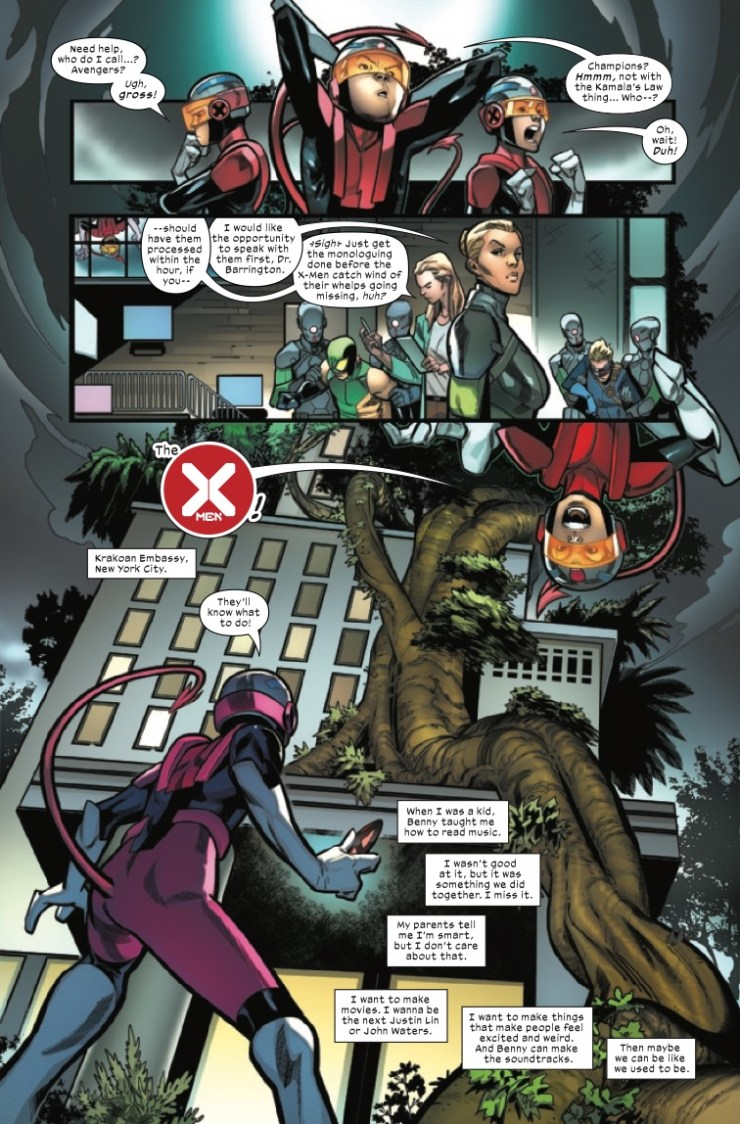 Marvel Preview: Children Of The Atom #5