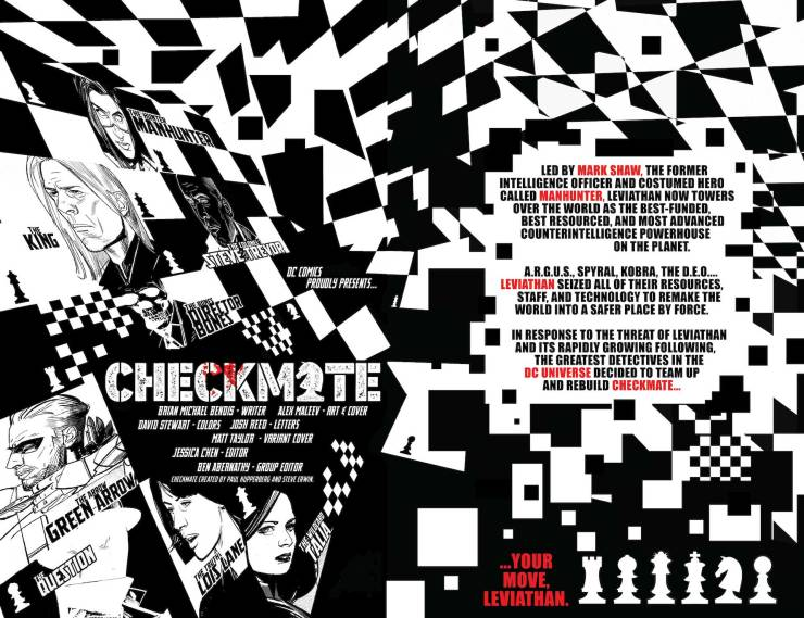 DC Preview: Checkmate #2