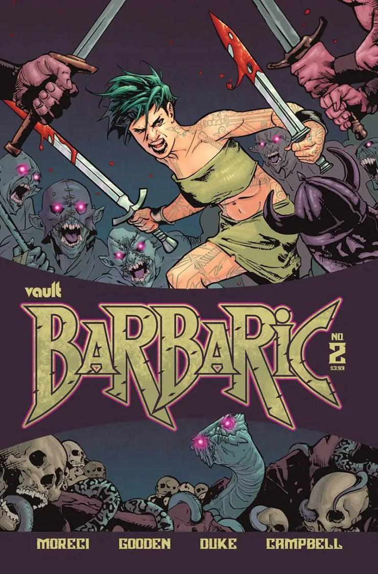 EXCLUSIVE Vault Preview: Barbaric #2