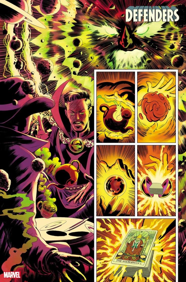 Marvel First Look: Defenders #1