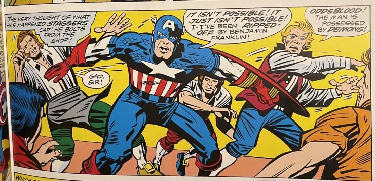 'Captain America's Bicentennial Battles Treasury Edition' review