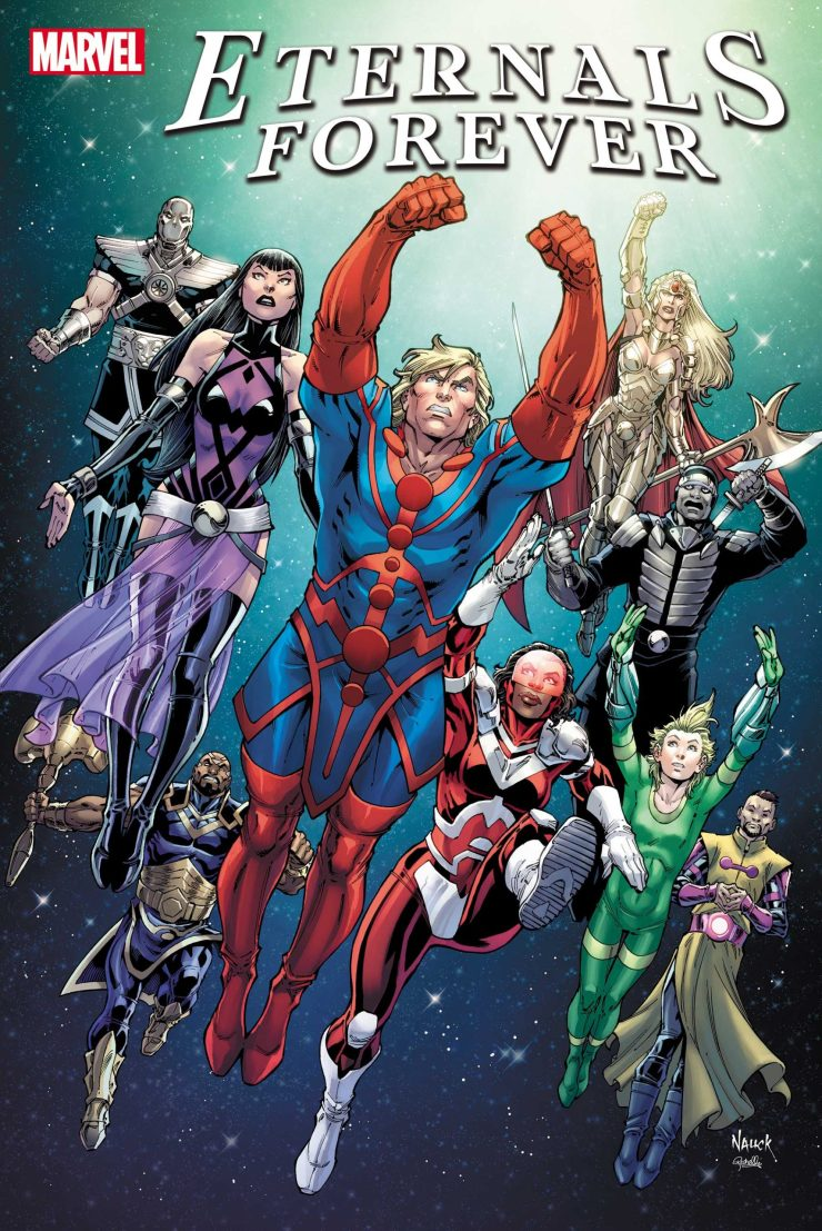 Marvel adds 'Eternals Forever' #1 to October release schedule