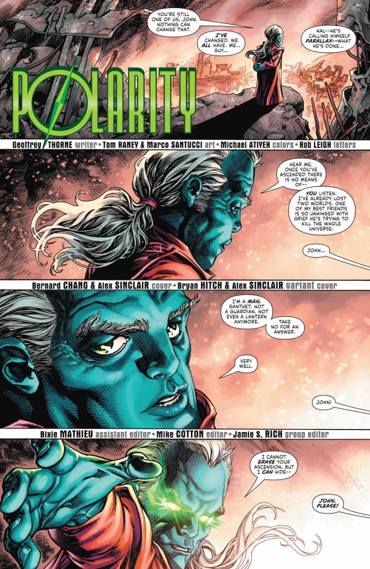 DC Preview: Green Lantern #4
