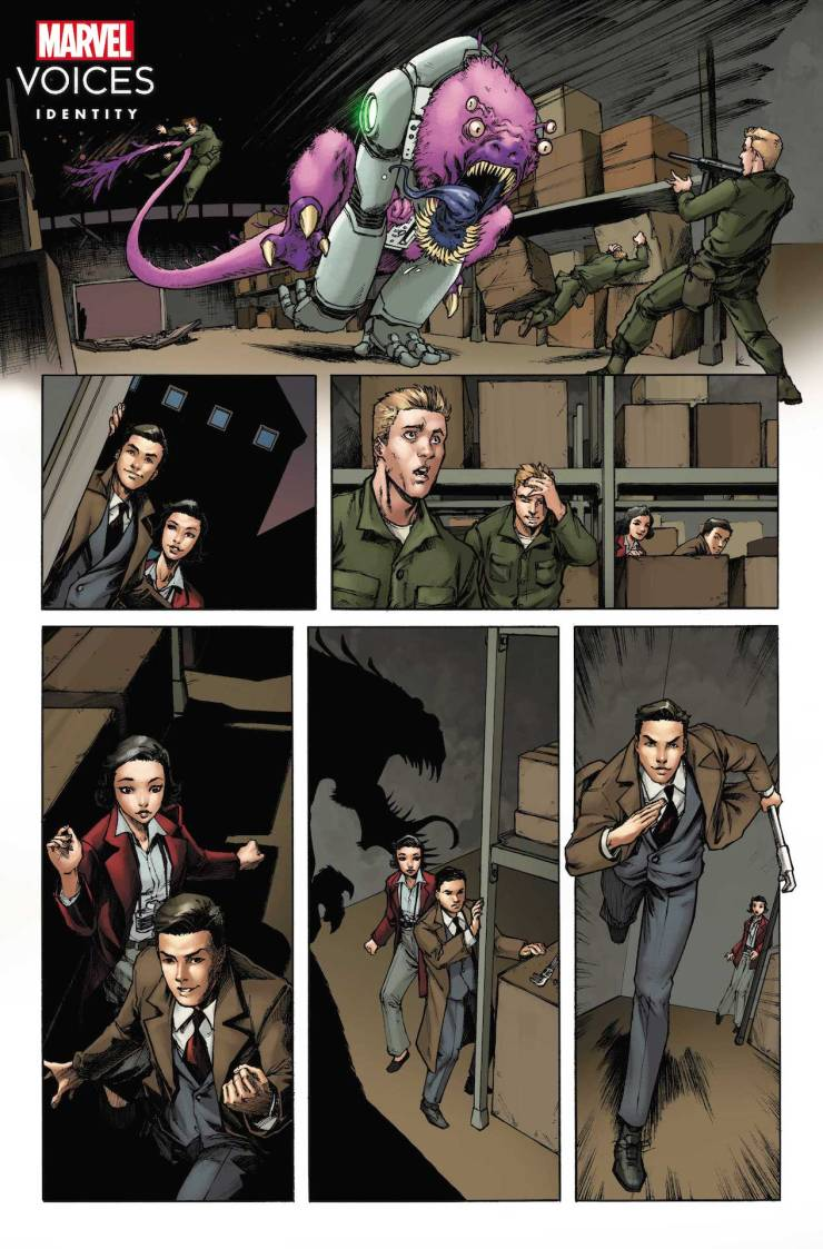 Marvel First Look: Marvel's Voices: Identity #1
