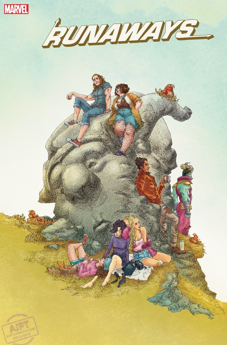 EXCLUSIVE Marvel First Look: Runaways #38 - Milestone #100