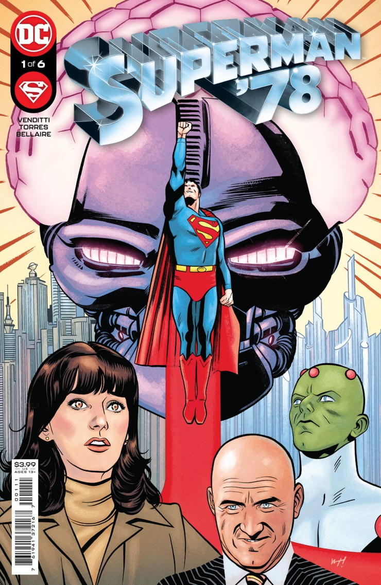 DC Comics shows off 'Superman '78'#1 preview