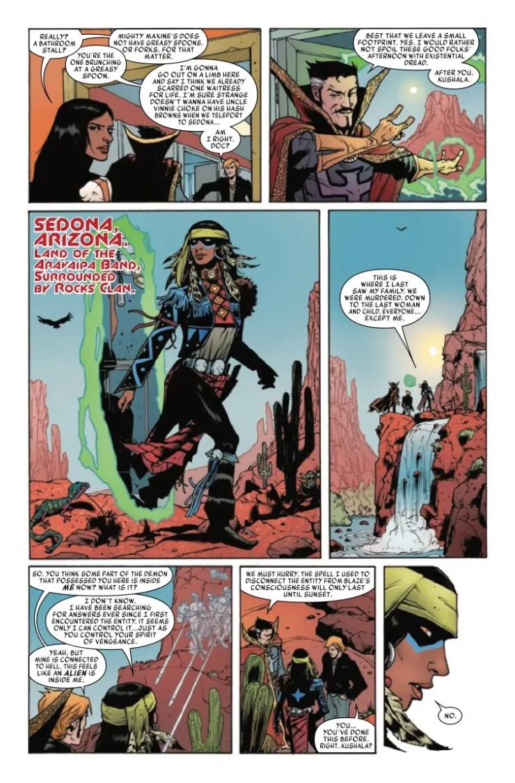 'Spirits of Vengeance: Spirit Rider' #1 review