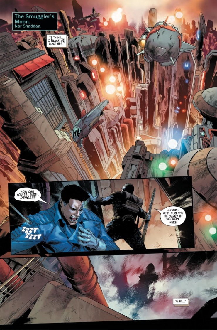 Marvel Preview: Star Wars: Bounty Hunters #14