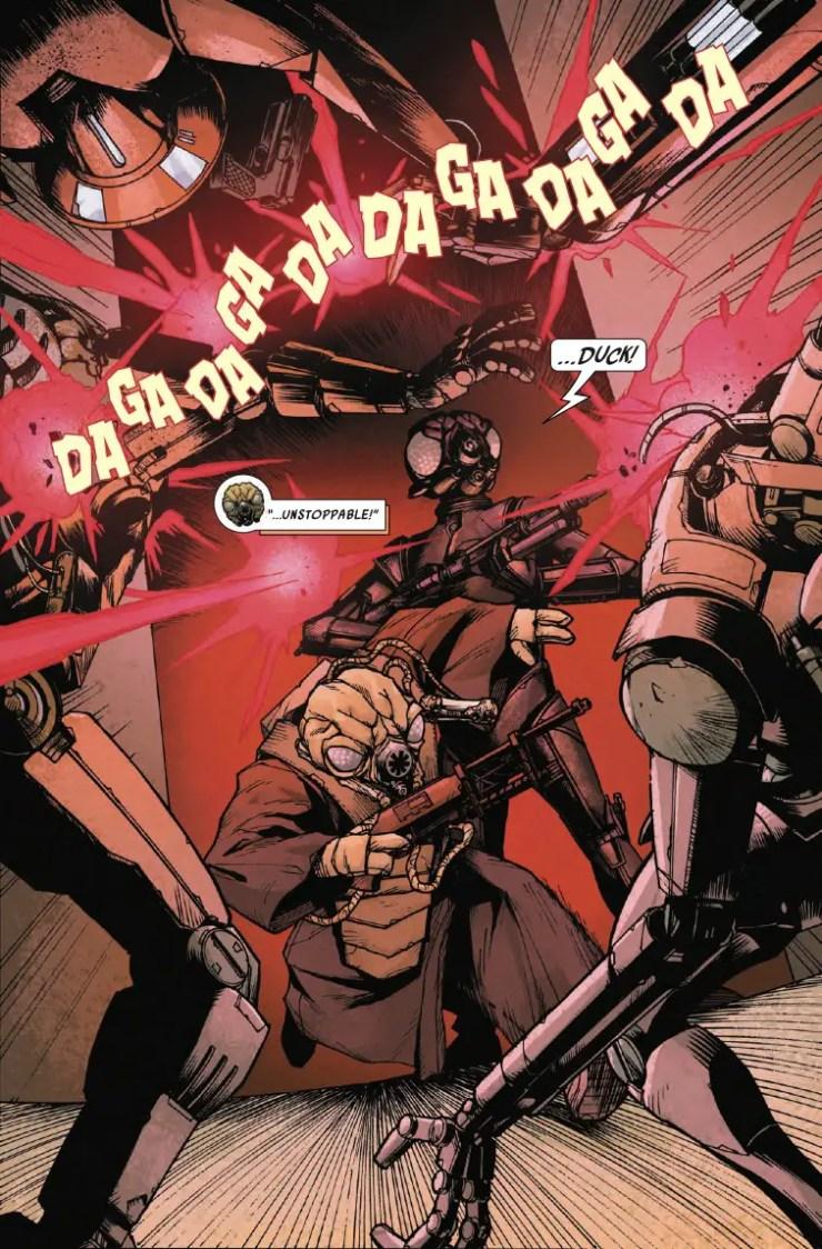 Marvel Preview: Star Wars: War of the Bounty Hunters - 4-Lom & Zuckuss #1