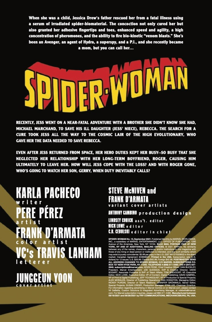 Marvel Preview: Spider-Woman #13