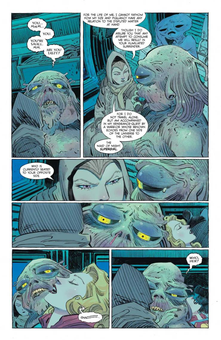 DC Preview: Supergirl: Woman of Tomorrow #2