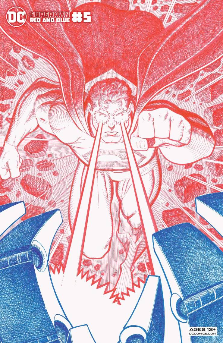 DC Preview: Superman Red & Blue #5