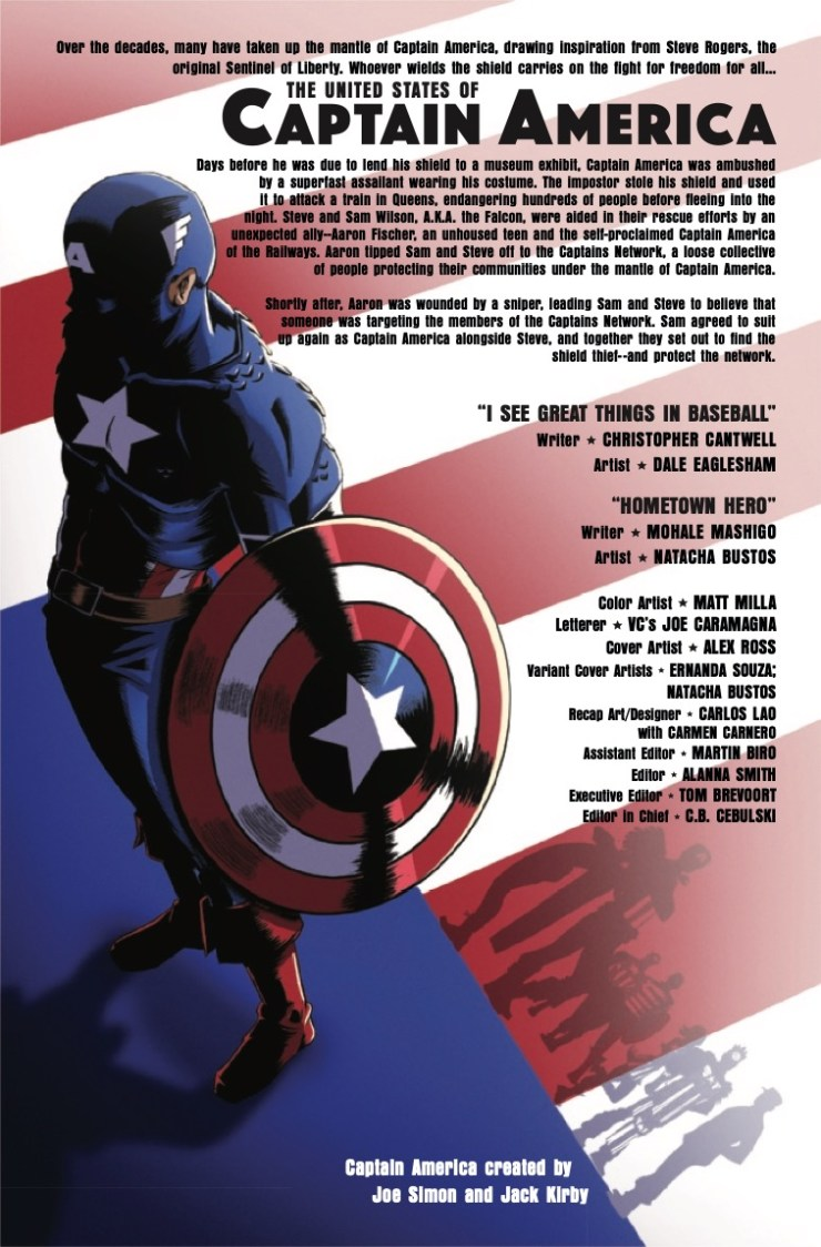 Marvel Preview: The United States of Captain America #2