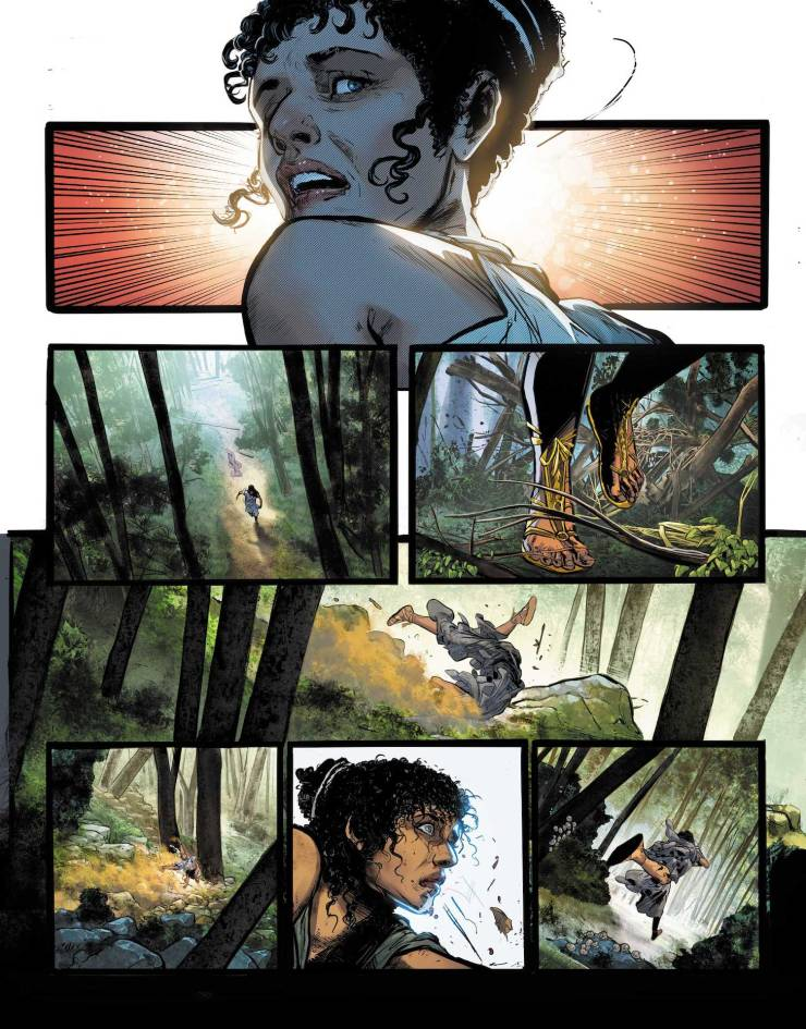DC First Look: Wonder Woman Historia: The Amazons