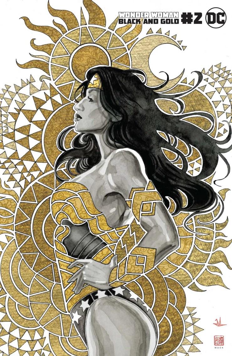 DC Preview: Wonder Woman Black & Gold #2