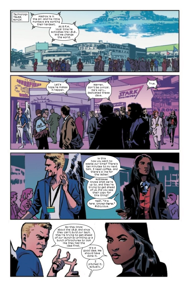 Marvel Preview: X-Corp #3