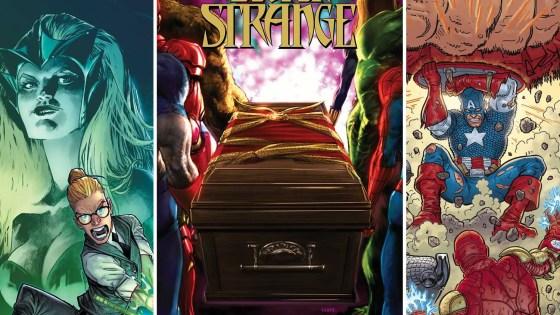 Marvel announces 'Death of Doctor Strange' getting spin-offs