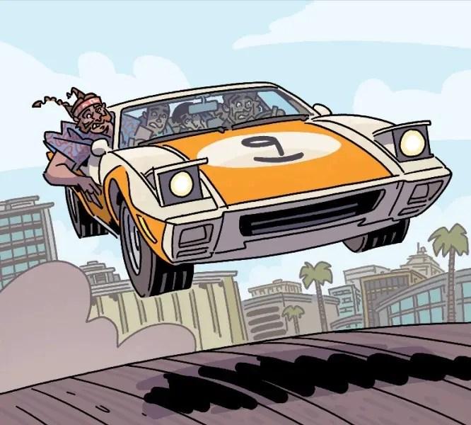 'The Six Sidekicks of Trigger Keaton' #2 review
