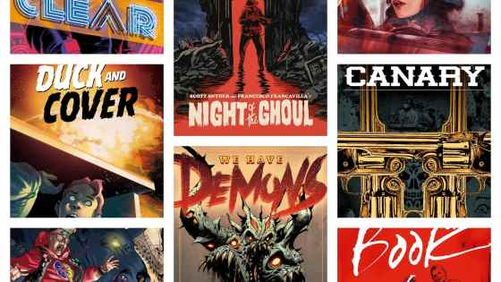 Pairing digital and physical: Scott Snyder on his eight title launch at ComiXology
