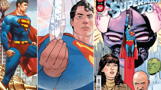 DC Comics lets 'Superman '78'#1 preview fly