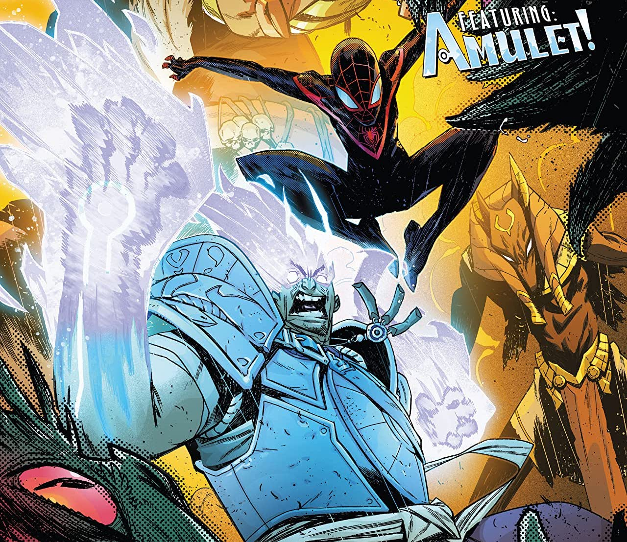 'Miles Morales: Spider-Man Annual' #1 further proves Amulet needs his own series