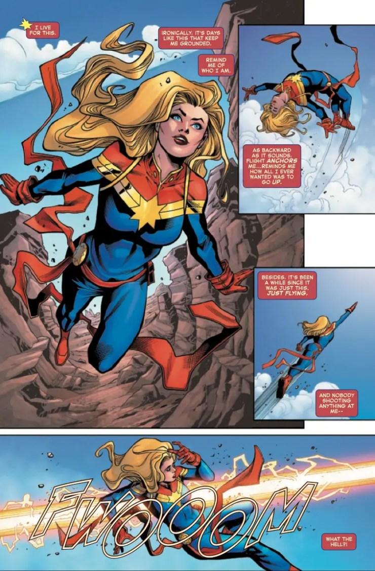 Marvel Preview: Captain Marvel #32