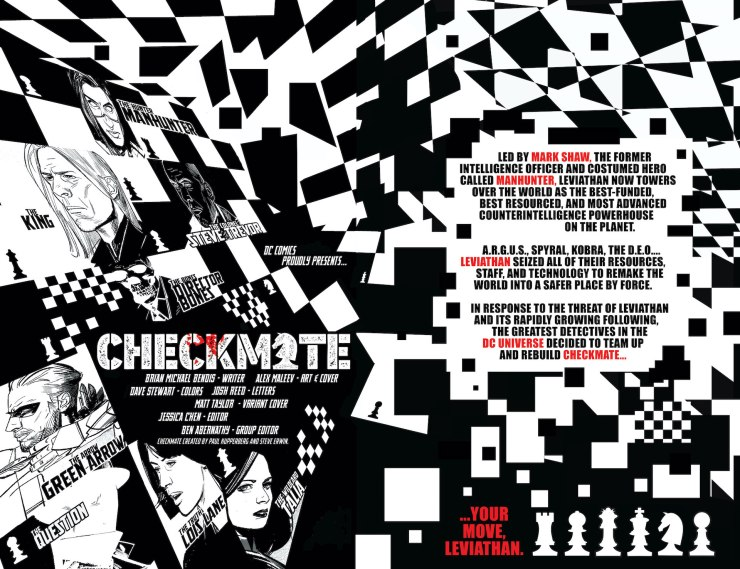 DC Preview: Checkmate #3
