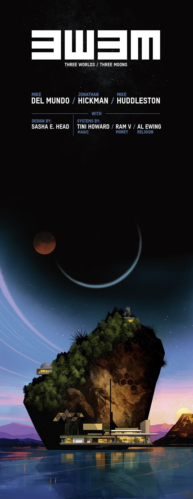 Jonathan Hickman outlines Substack plans for 'Three Worlds Three Moons'