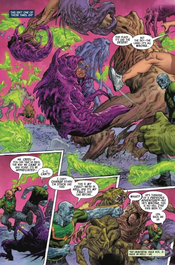 Marvel Preview: Gamma Flight #3