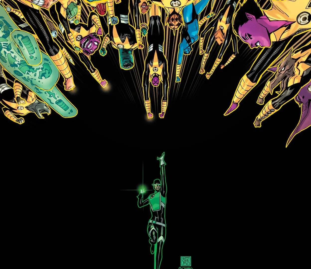 'Green Lantern' #5 teaches a lesson about fear