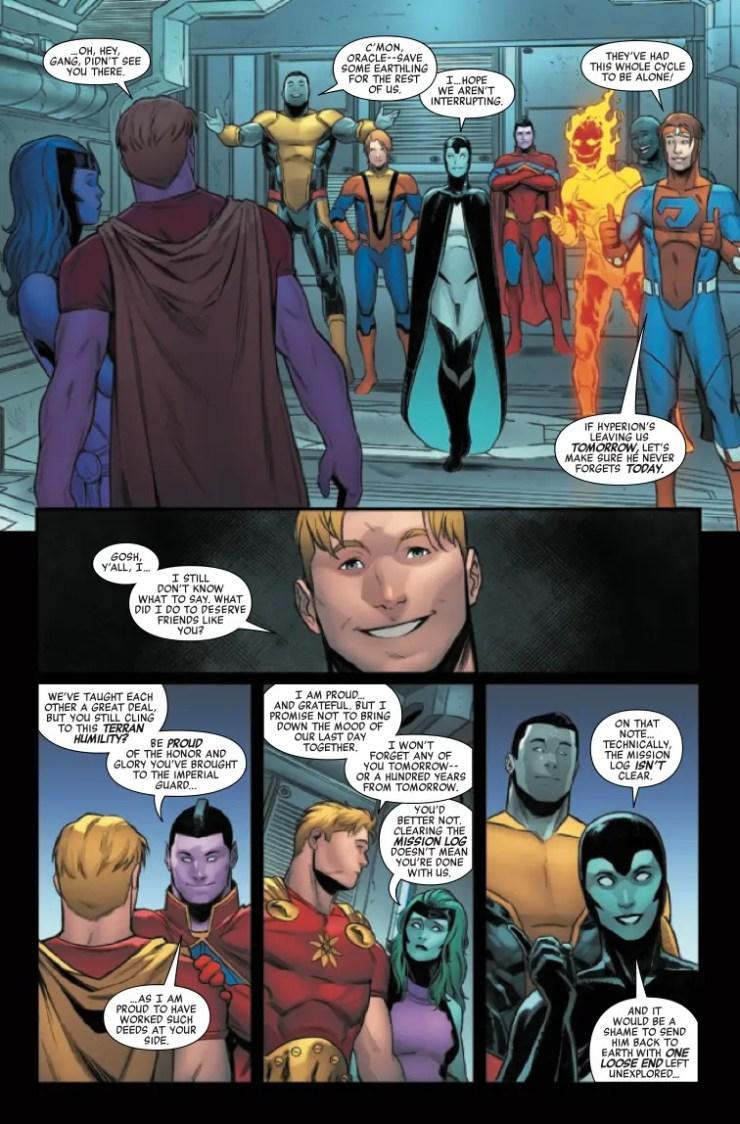 Reborn. . . as super space friends.