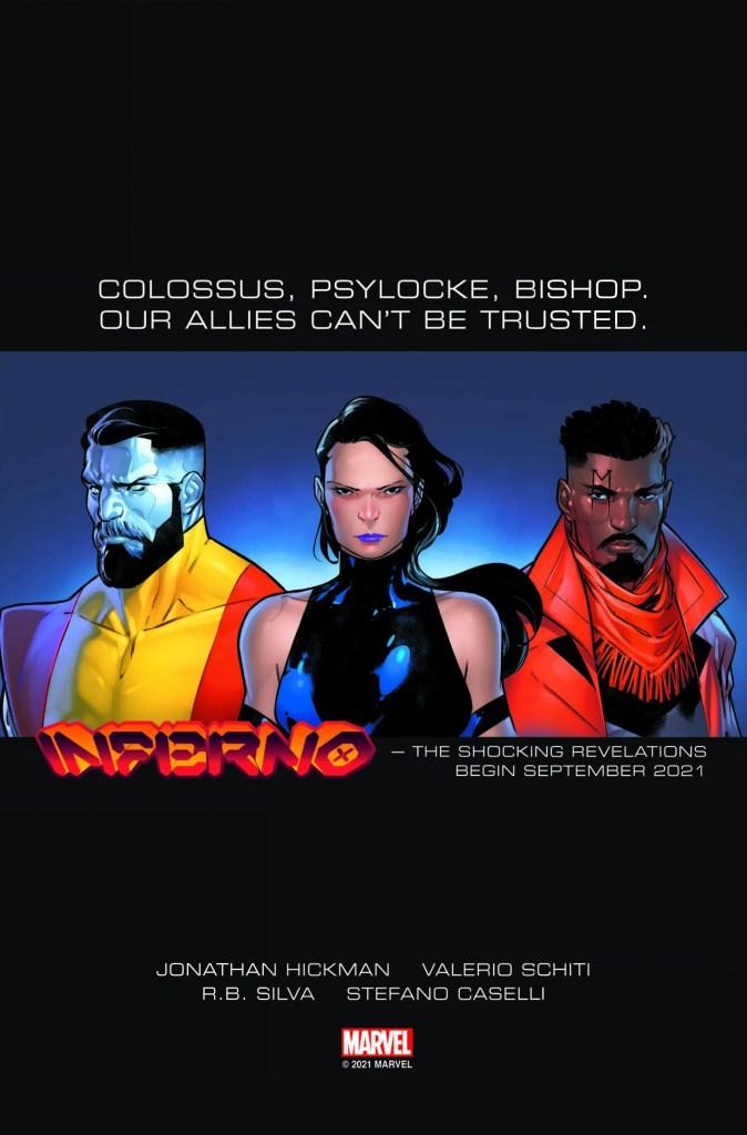 Marvel Inferno X-Men Jonathan Hickman