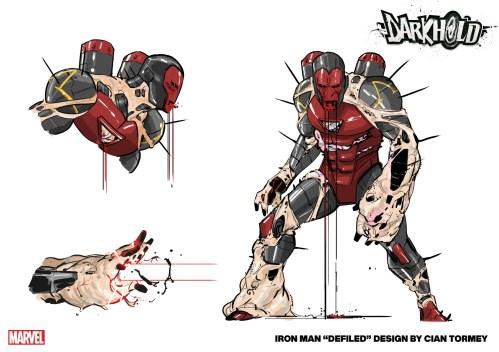 Marvel reveals new art for 'Darkhold Alpha'