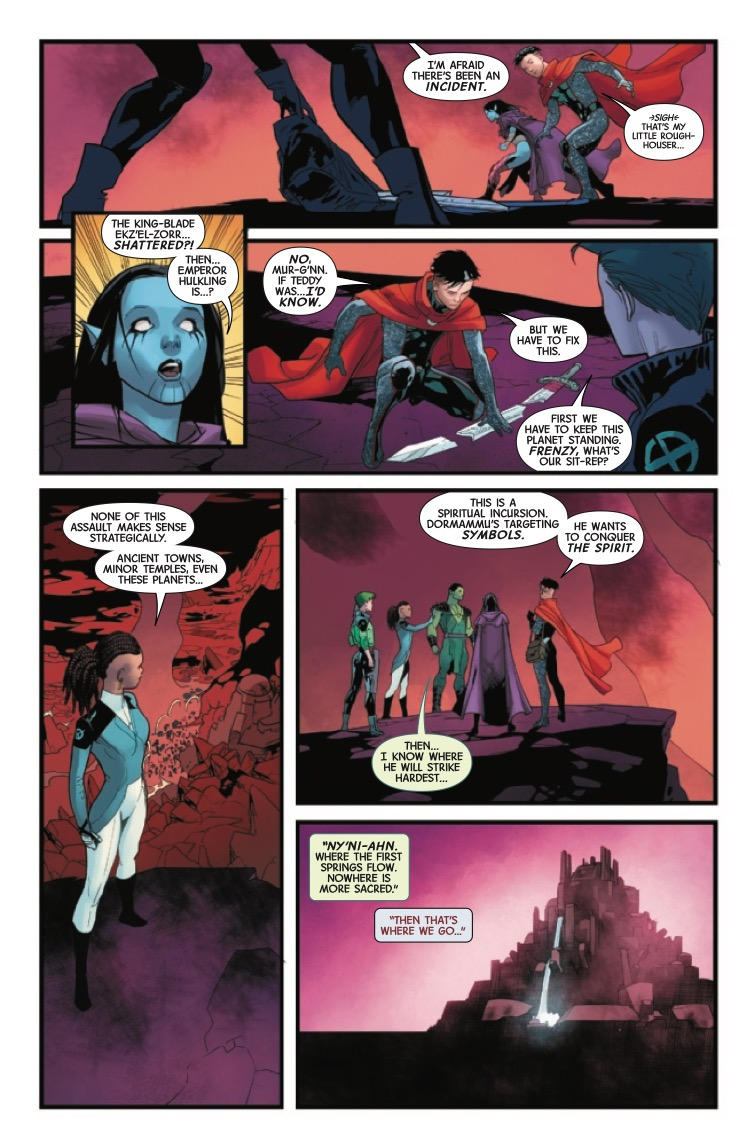 'The Last Annihilation: Wiccan & Hulkling' #1 tells a touching tale of love and family