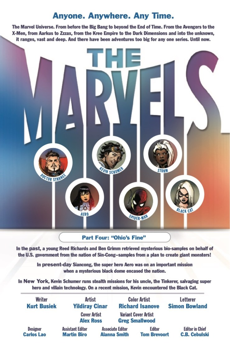 Marvel Preview: The Marvels #4