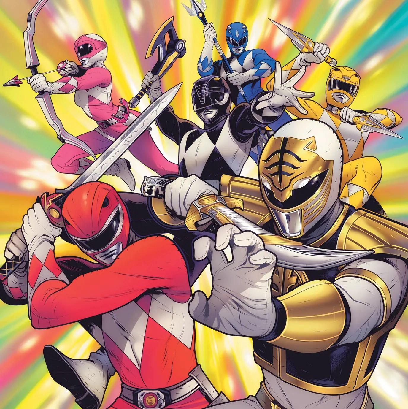 'Mighty Morphin' #11 is good ensemble comics