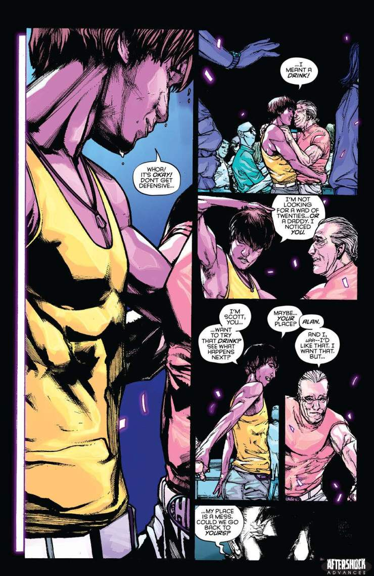 EXCLUSIVE AfterShock Preview: Party & Prey OGN