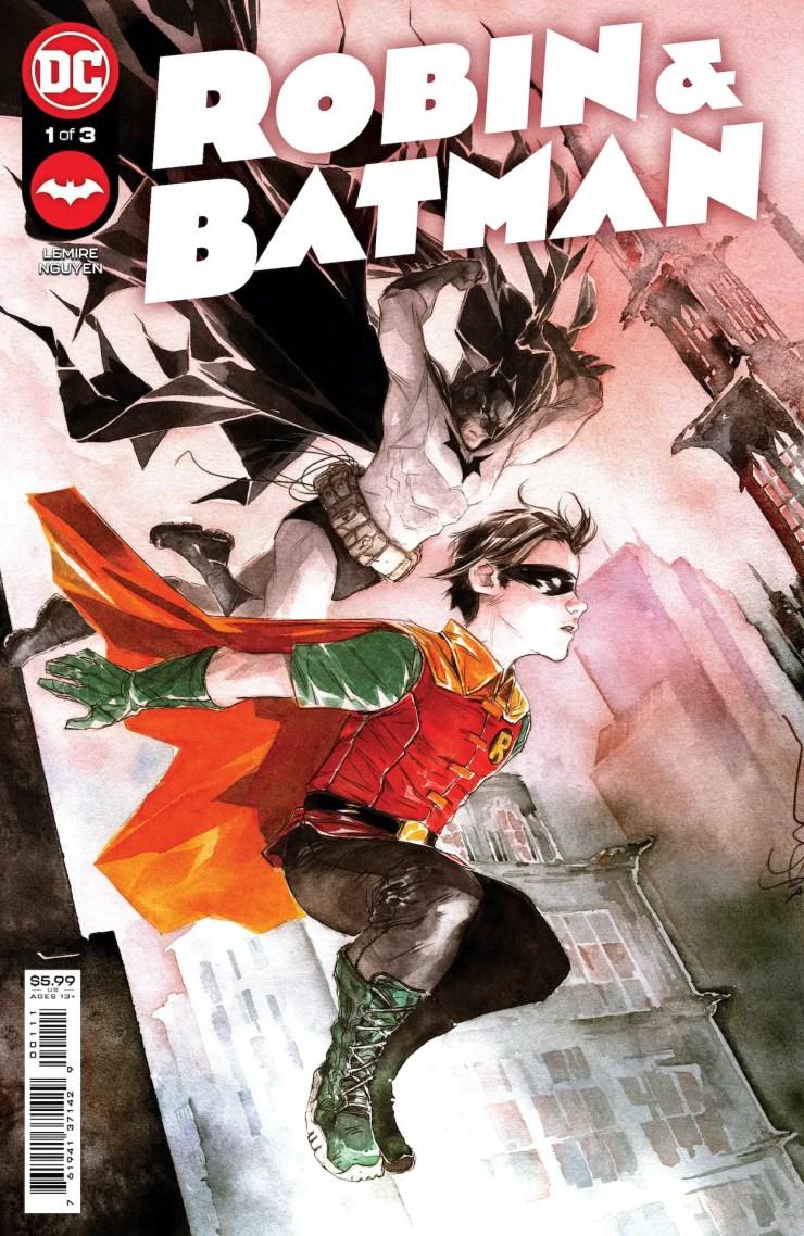 DC Comics announces 'Robin & Batman' #1 from Jeff Lemire & Dustin Nguyen