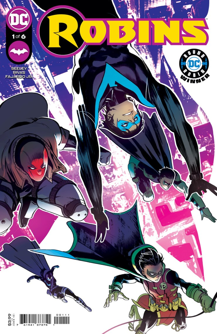 DC Comics reveals 'Robins' #1 set for November 16