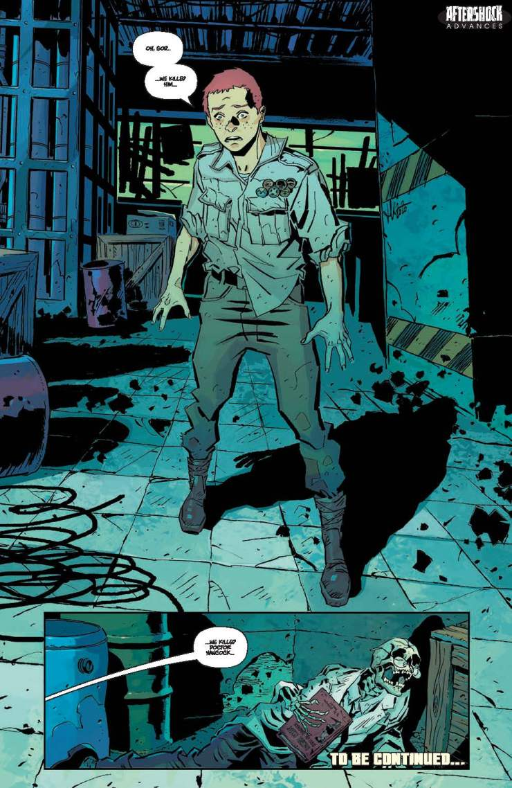EXCLUSIVE AfterShock Preview: Scout's Honor TPB
