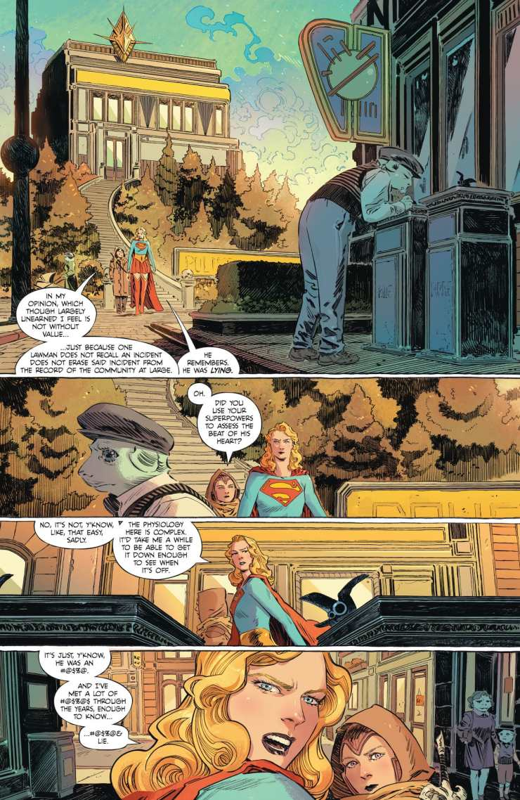 DC Preview: Supergirl Woman of Tomorrow #3