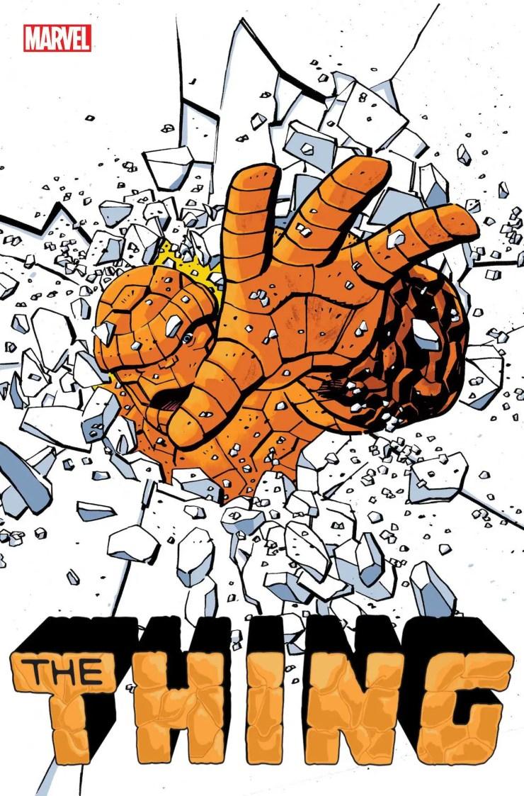 Marvel Comics Solicitations 2021 November The Thing