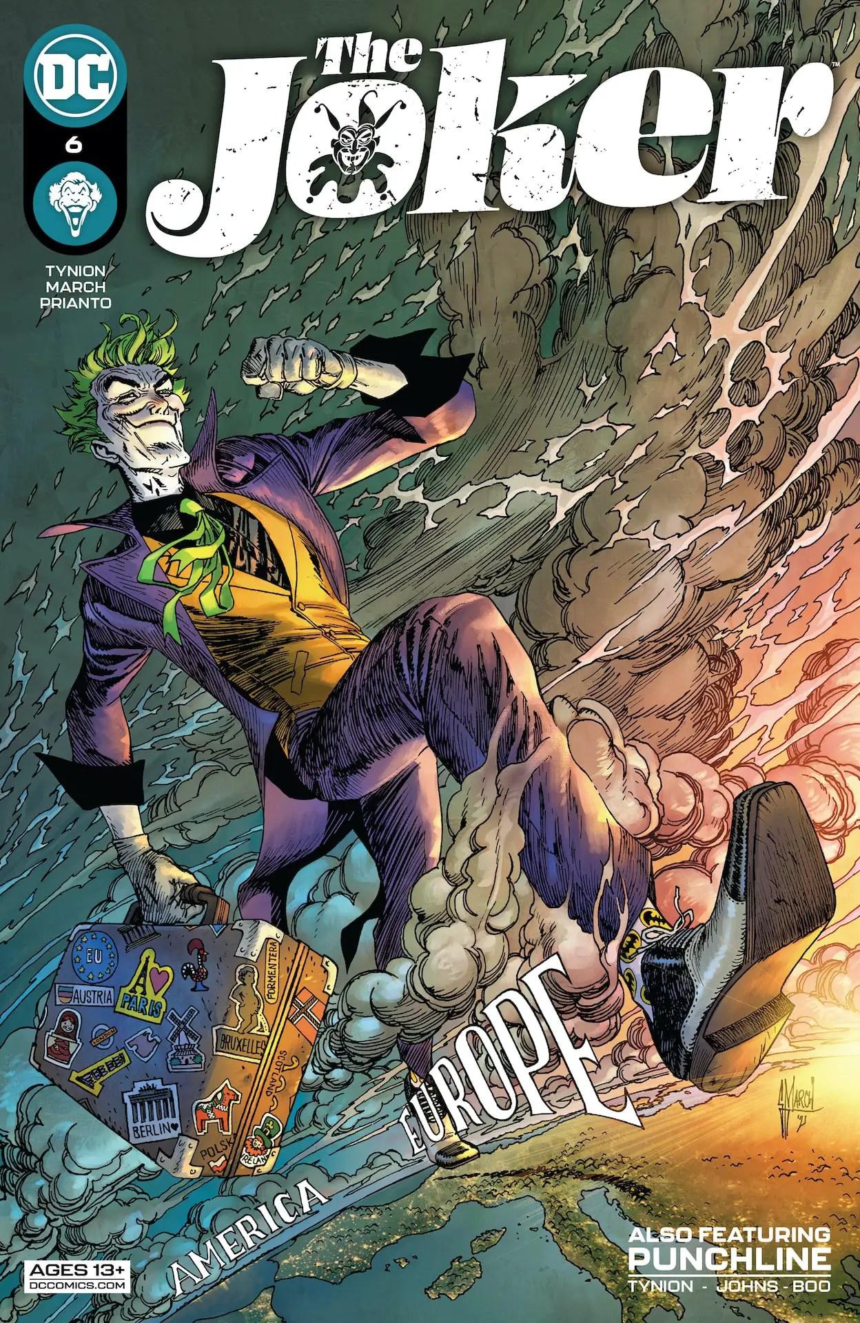 'The Joker' #6 goes to Paris