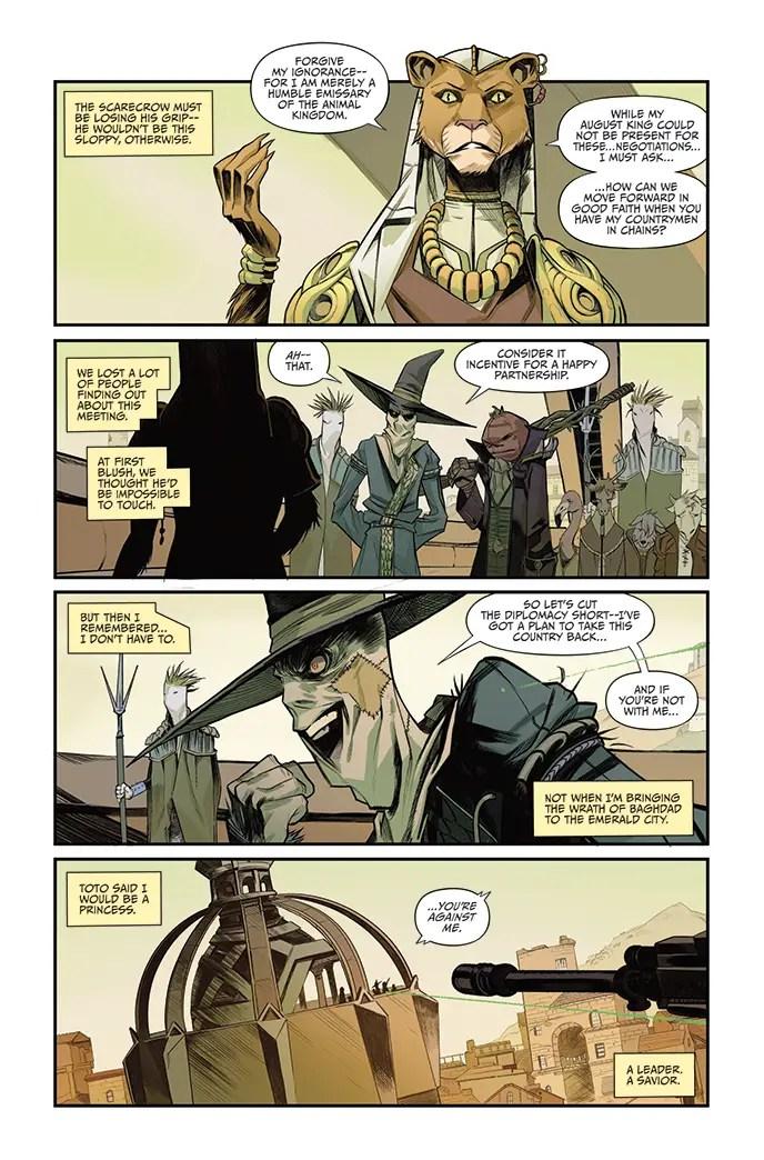 David Pepose 'The O.Z.' #2 Kickstarter