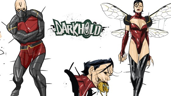 Marvel Comics adds Wasp and Black Bolt one-shots to 'Darkhold' lineup
