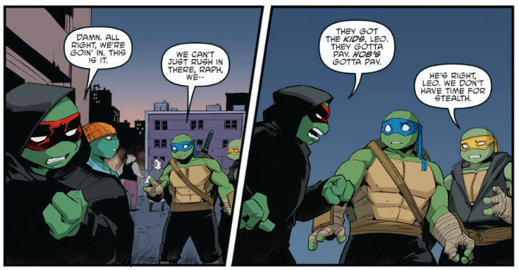 Teenage Mutant Ninja Turtles #120